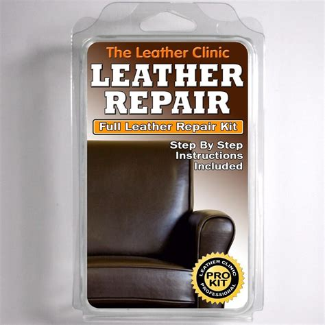 Leather Upholstery Repair by Brown Leather Sofa Chair Repair Kit For Tears Holes