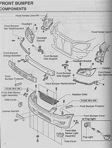 2006 Mustang Front Bumper Diagram   33 Wiring Diagram