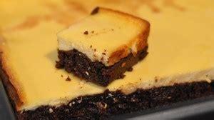 cheesecake hervé cuisine recette américaine du brownie cheesecake très gourmand
