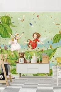Trampolin Für Kinderzimmer : arielle die meerjungfrau versch nere die wand im k m dchen zimmer tr ume ~ Frokenaadalensverden.com Haus und Dekorationen