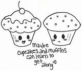 Cupcakes Cupcake Cute Coloring Pages Muffins Drawing Drawings Vs Deviantart Muffin Cake Printable Getdrawings Anime Sweet Colored Getcoloringpages Th02 Friend sketch template