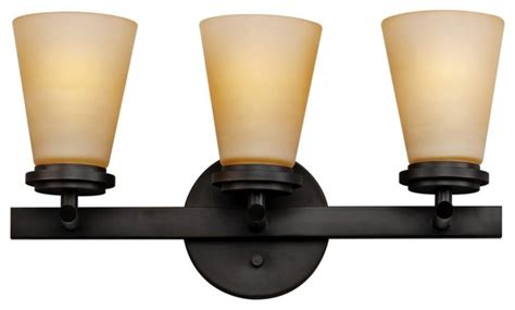 deep projection vanity light contemporary forecast town and country 18 quot deep bronze