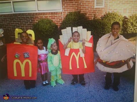 The Happy Meal Halloween Costumes