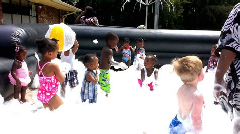 childrens foam party youtube