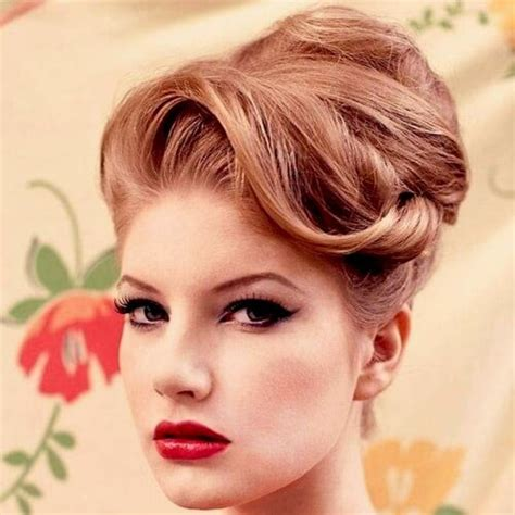 50s Hairstyles Updos by Feel Look Vintage With These 50 Superb Hairstyles Hair