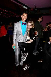 Avril Lavigne at Just Jareds Party-04 - GotCeleb
