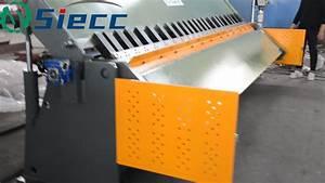 In Stock Manual Iron Bender  Manual Folding Machine