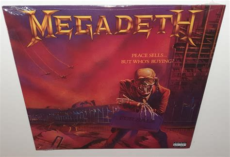 MEGADETH PEACE SELLS BUT WHO'S BUYING (2019) NEW SEALED ...