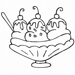 Lets Make Banana Split Coloring Pages: Lets Make Banana ...