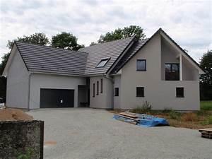 Grand Garage De Provence : maison en ossature bois avec balcon abt construction bois ~ Gottalentnigeria.com Avis de Voitures