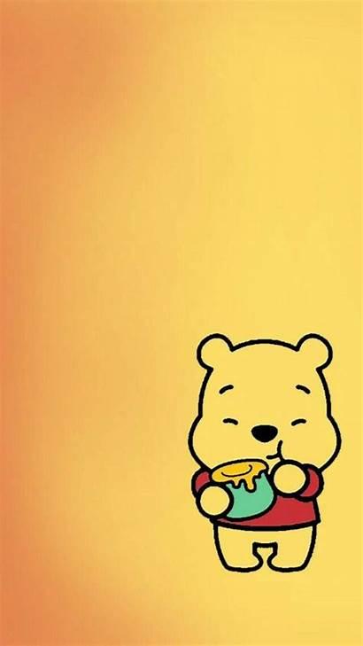 Pooh Winnie Aesthetic Wallpapers Cartoon Disney Iphone