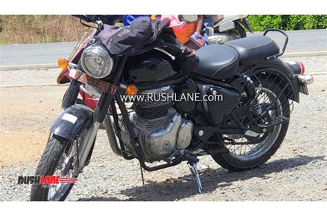 heavily updated royal enfield classic   spied