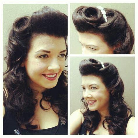1940s Hairstyles Tutorial by Pin By On Hair Frisuren Frisuren