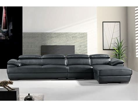 Cheap Leather Settees by 3 Genuine Leather Sectional Sofa Km 2619 Leather