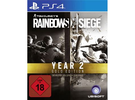 siege sony sony playstation 4 tom clancy 39 s rainbow six siege gold