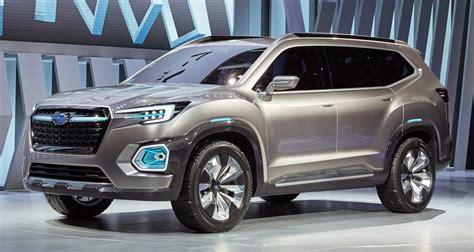 2020 subaru suv subaru viziv 7 concept debuts seven seater suv