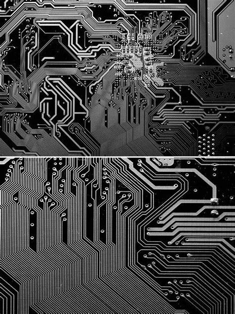 Silver Circuit Board Generative Mistakes Pinterest