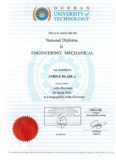 Looking for degree in mechanical engineering? Mechanical Engineering National Diploma