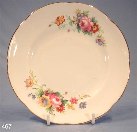 royal stuart floral vintage bone china tea plate sold