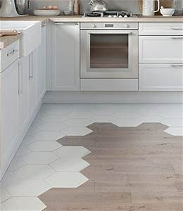 Carrelage Hexagonal Blanc : cuisine on pinterest ~ Premium-room.com Idées de Décoration