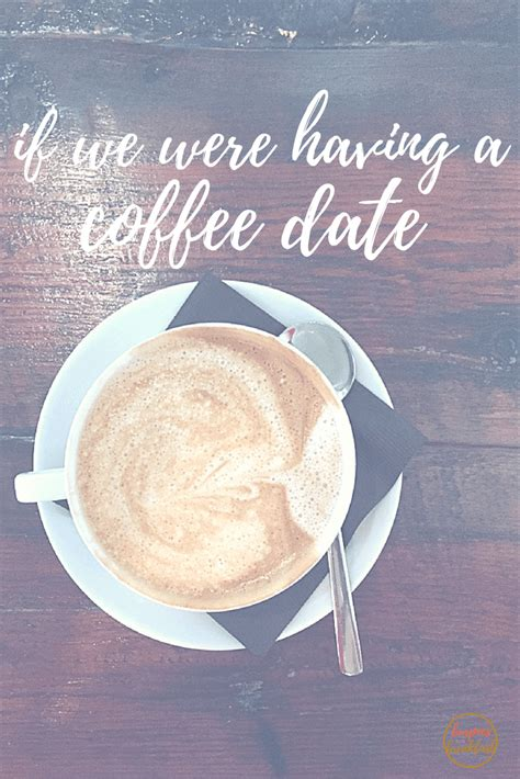 If We Were Having A Coffee Date | Burpees for Breakfast