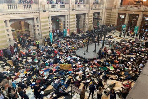 extinction rebellion protesters stage worldwide die