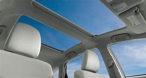 The Panoramic Moon Roof Of The 2012 Toyota Prius V Five