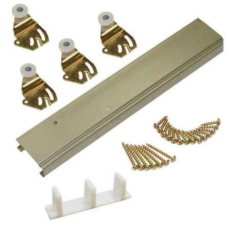 bypass door hardware johnson hardware 1138 series bypass track hdw set for 2