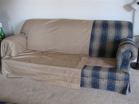 how to change leather sofa cover making couch covers from two queen bed sheets and