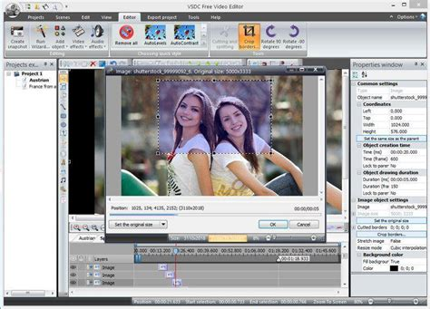 video editing software  vsdc  video