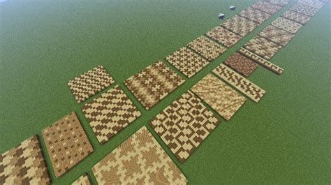 interesting patterns to decorate floors ceilings roads survival mode minecraft discussion