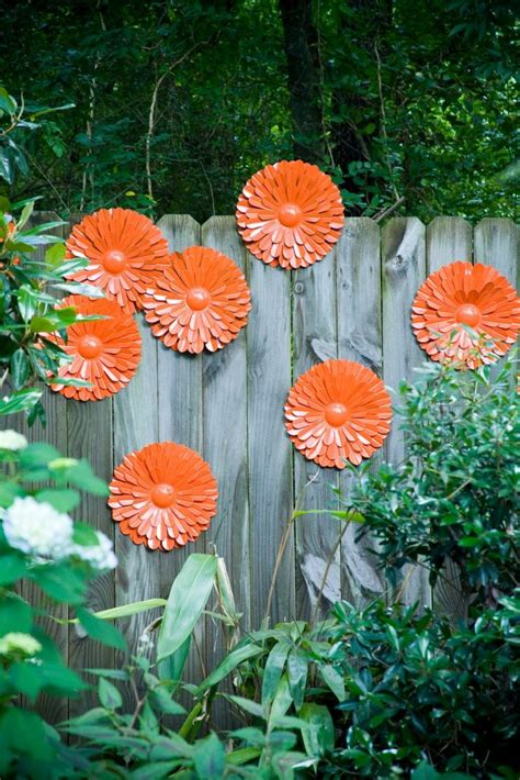 diy fence decoration ideas home design garden