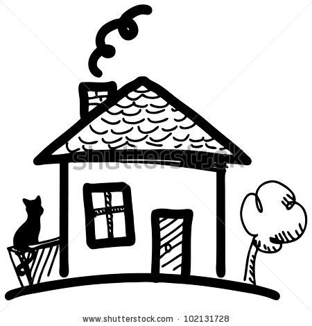 mansion drawing clipart panda  clipart images