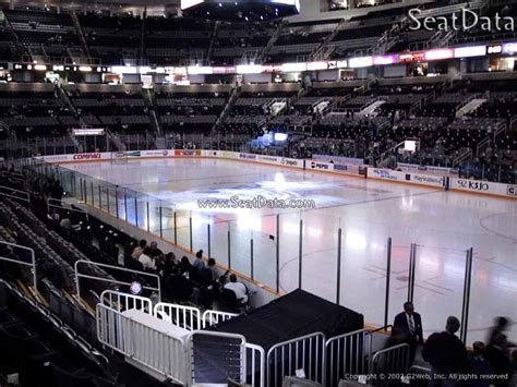 sap center section  san jose sharks rateyourseatscom