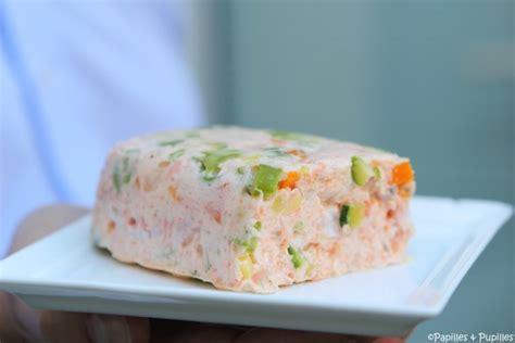 cours de cuisine atelier des chefs terrine de saumon aux langoustine