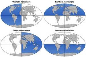 What Are the 4 Hemispheres