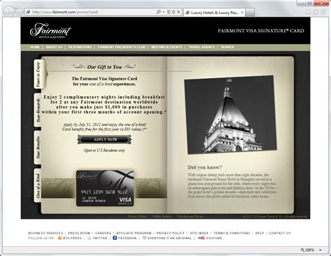 Maybe you would like to learn more about one of these? Fairmont Visa Signature Card | Frugal Travel Guy