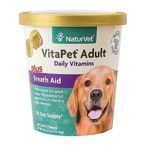 vitapet adult daily vitamins soft chews   baxterboo