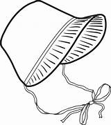 Bonnet Pilgrim Coloring Pages Clipart Pioneer Clip Thanksgiving Hat Printable Pilgrims Easter Drawing Template Transparent Preschool Cliparts Boy Library Webstockreview sketch template