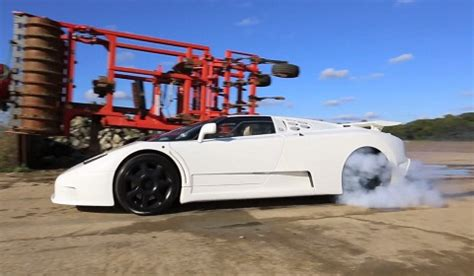 The bugatti veyron is an impressive car, and it's one most of us would love to call our own. Video: Awesome Bugatti EB110 SS Burnout Video - GTspirit