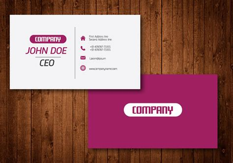 Download Free Vector Art, Stock Visiting Card Background Design Eps Free Download Business Pink Display Holders Australia Adobe Indesign Plastic Box Suppliers Die Cut Acrylic