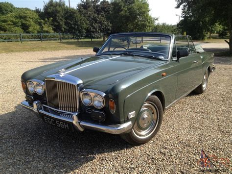 1969 Bentley T1 Mulliner Drophead Very Rare Car In Lovely