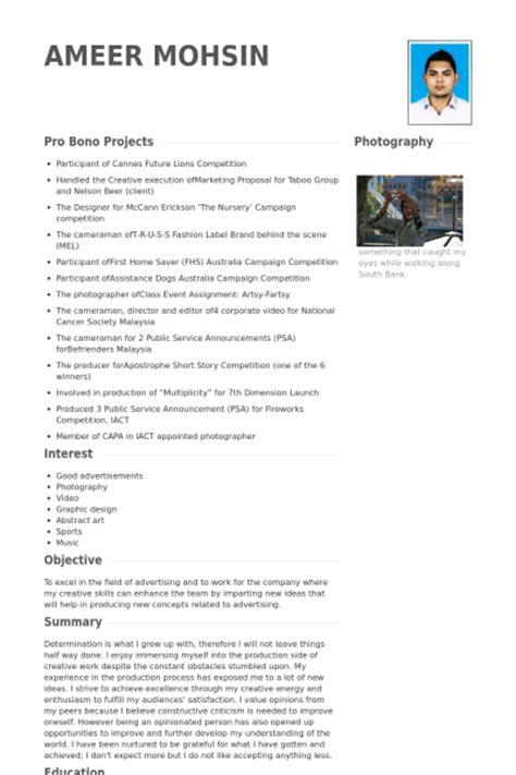 Freelance Graphic Design Cv by Graphiste Freelance Exemple De Cv Base De Donn 233 Es Des Cv De Visualcv
