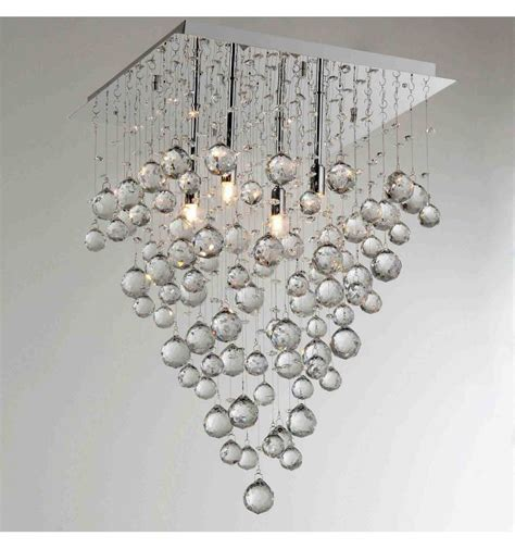 appliques cuisine grand lustre cristal design arbre
