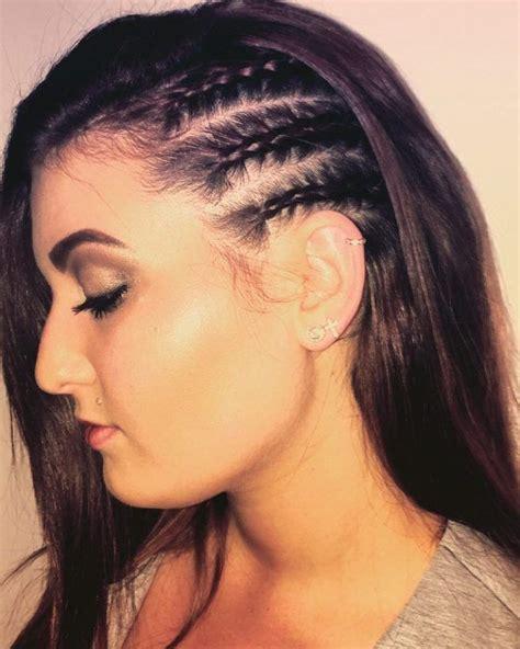 side hair braid styles cornrows vlechten 5627