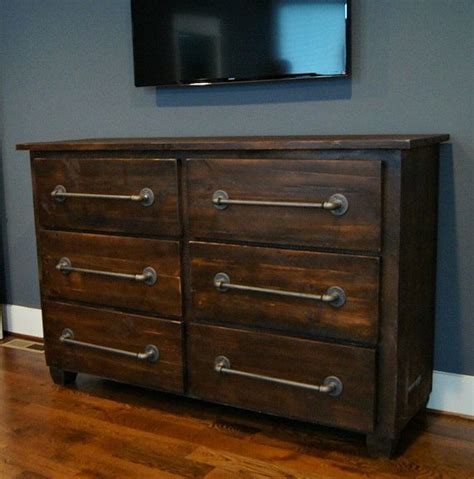 zayley 6 drawer dresser 25 best ideas about industrial dresser on
