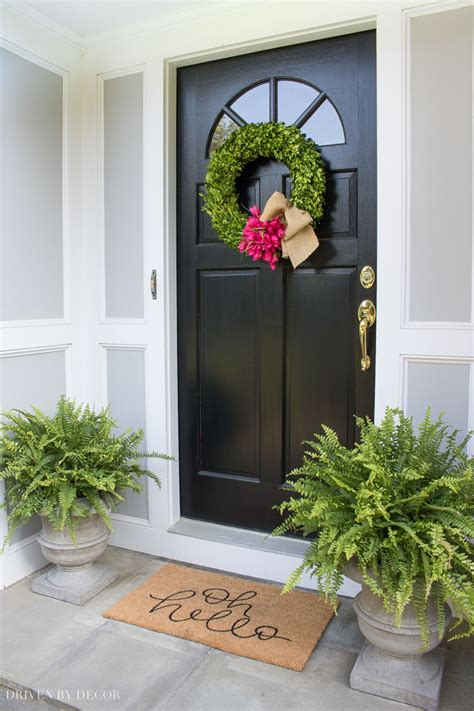 Door Decoration - driven by decor decorating homes with affordable style