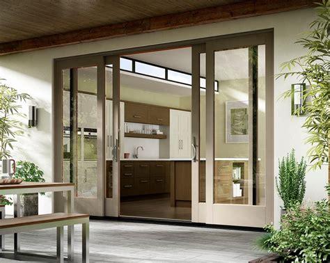 impressive andersen patio doors  grass lawn black