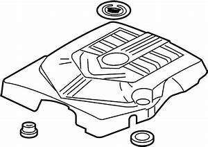 Cadillac Cts Engine Cover  Upper   2 8  U0026 3 6 Liter