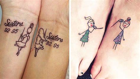 tatouage commun soeur id 233 es tatouages entre soeurs